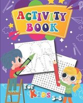 Activity Book for Kids 5-8: