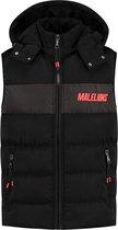 Malelions Sport Nium Bodywarmer - Black/Neon Red