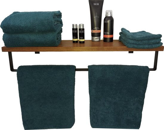 Handdoekenrek - Duurzaam verantwoord hout - Handdoekrek - badkamer