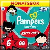 Pampers Pants Baby Dry - Luierbroekjes - Maat 6 -15+ kg - Maandbox -  Limited Edition, 88 St
