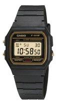 Casio Collection F-91WG-9QEF Unisex Horloge - Ø 34 mm