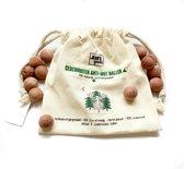 Jean's goods Cederhouten anti-mot ballen - 15 Mottenballen - Motten bestrijden - Natuurlijk bestrijdingsmiddel - 100% Cederhout tegen motten -15 stuks