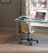 OLAF Bureaustoelmat PVC - 90x120xm - Vloermat bureaustoel - Vloerbeschermer