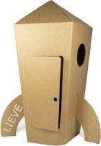 KarTent - Kartonnen Speel Raket - Speelhuisje - Cadeau van Duurzaam Karton