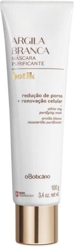 Botik - Witte Klei Zuiverend Gezichtsmasker - 100 g