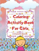 Coloring Activity Book For Girls