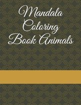 Mandala Coloring Book Animals