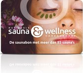 Nationale Sauna & Wellness cadeaukaart 50,-