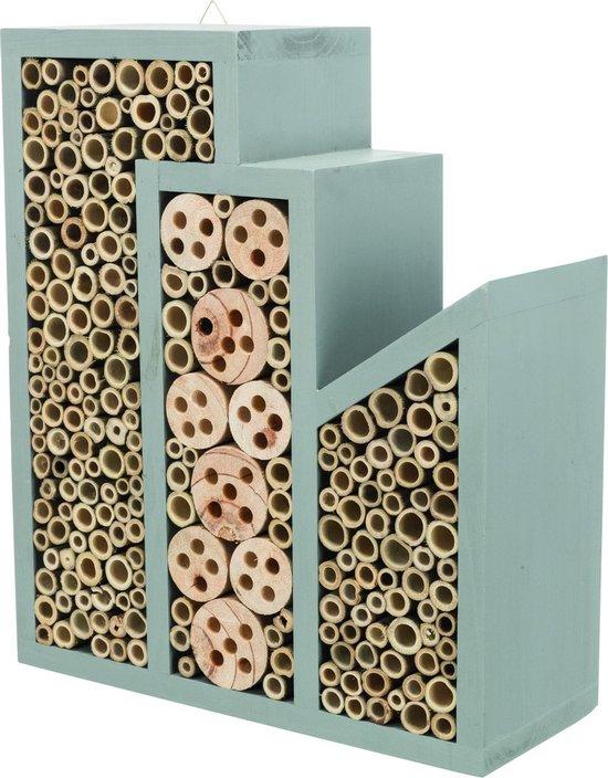 Trixie bijenhotel hout 30x12x35 cm