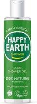 Happy Earth Pure Shower Gel Cucumber Matcha 300 ml - 100% natuurlijk