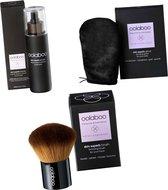 oolaboo skin superb organic spray on bronzer - Brush en glove VEGAN !!!