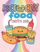 Kawaii Food Coloring Book
