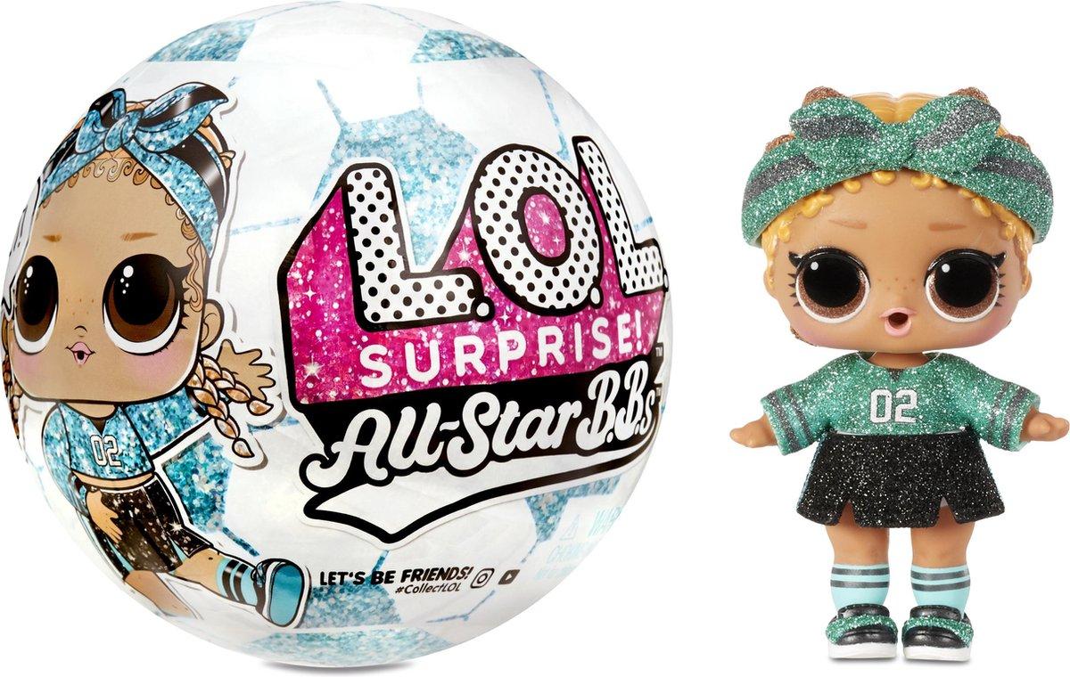 L.O.L. Surprise! All Star BBs Serie 3 Voetbal - Minipop