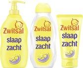 Zwitsal Baby Slaap Zacht - Bodycrème + Bad- & Wasgel + Massageolie - Voordeelverpakking