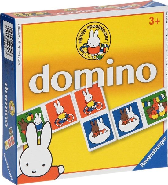 Afbeelding van het spel Domino Nijntje - Multicolor - Vanaf 3 jaar