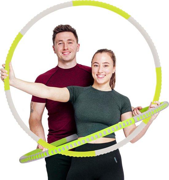 STRK® Fitness Hoelahoep-Pasen cadeautje voor vrouwen en mannen -Sport Hoepel-Hula Hoop-Yoga Ring-Afvallen Waist Trainer, voor man en vrouw, 1-4 kg /94 cm+ gratis hoepeltas
