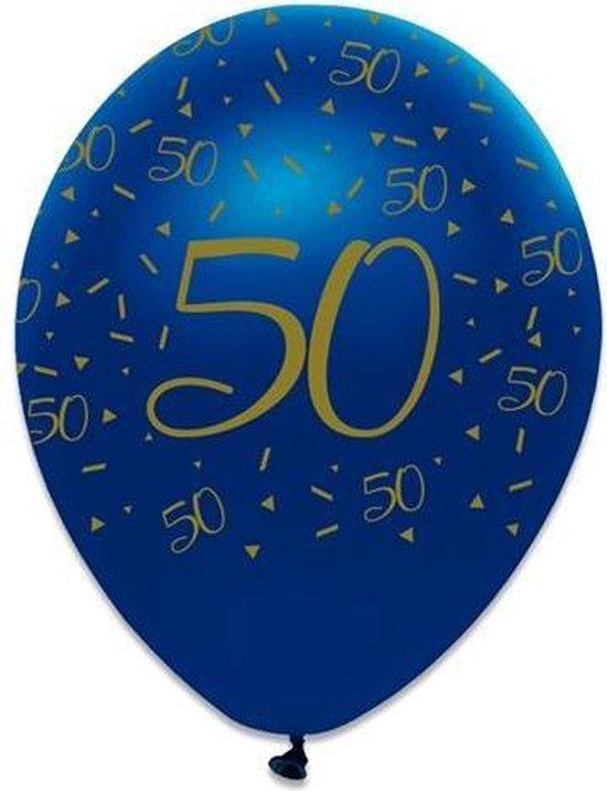 Latex ballon Navy 50 jaar
