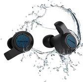 Jabees Firefly 2 Volledige draadloze oordopjes- Waterdicht IPX7- 10 uur Luistertijd- Zwart