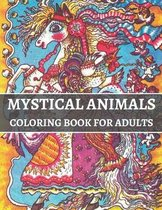 Mystical Animals Coloring Book For Adults