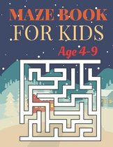 Maze Book For kids Age 4-9: Fun and Amazing Maze Book for Kids (Mazes book for Kids Ages (4-9)