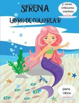 Sirena Libro de Colorear