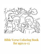 Bible Verse Coloring Book for ages 9-13: 24 Color Pages of Lettering Art of Inspirational & Motivational Scripture with Mindful Patterns for Ages 9-13