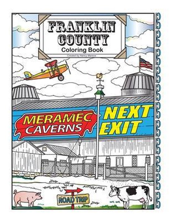 Franklin County Coloring Book