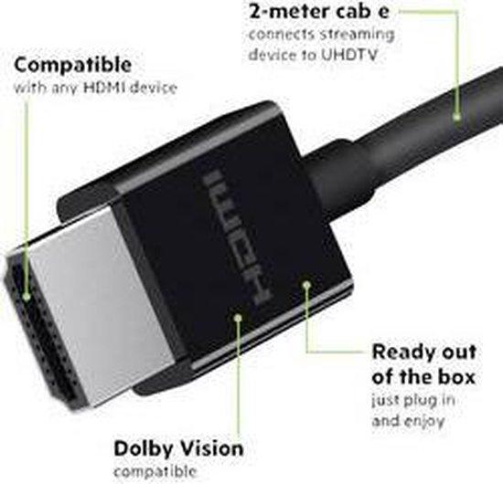 Belkin HDMI 2.1 kabel - Ultra High-Speed - 2m