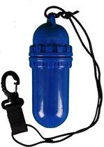Waterdichte koker blauw L