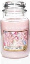 Yankee Candle Large Jar Geurkaars - Snowflake Cookie