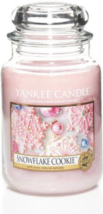 Yankee Candle Large Jar Geurkaars – Snowflake Cookie
