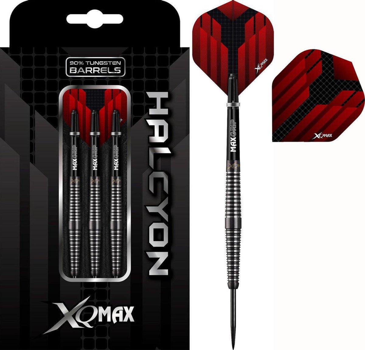 XQMax Halcyon M2 darts - 22 Gram - met setje extra flights