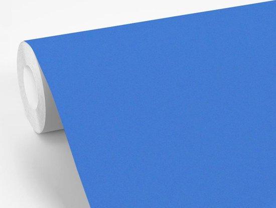 Fotobehang vinyl - Geelgors balanceert op het uiteinde van een takje breedte 275 cm x hoogte 220 cm - Foto print op behang (in 7 formaten beschikbaar)