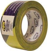 Zelfklevende markeringstape - geel/zwart 50mm x 33m