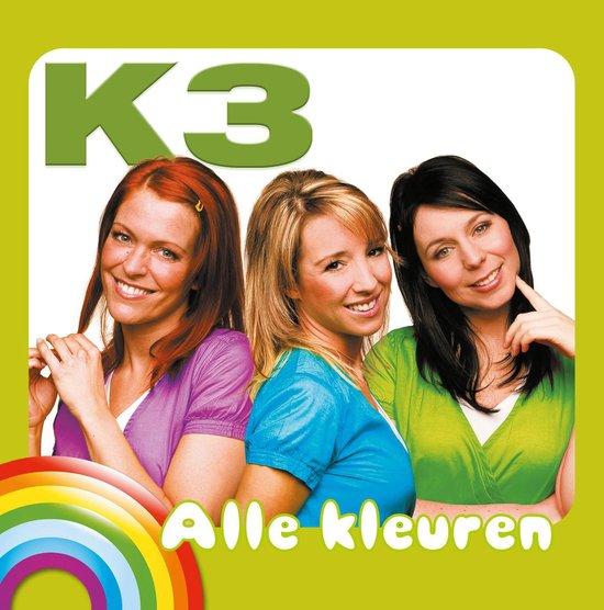 CD cover van Alle Kleuren (Coloured Vinyl) van K3