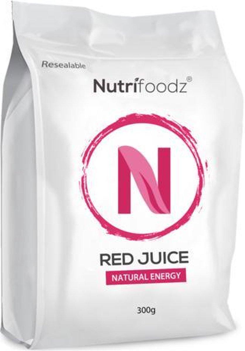 Nutrifoodz Red Juice  - Superfood Punch - 100% Vegan - 60 porties