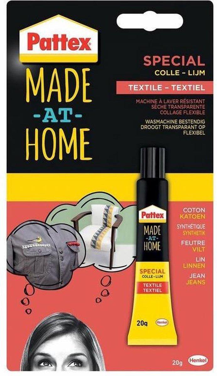 Pattex Special Textiel Lijm - 20 Gram - Transparant