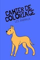 Cahier de coloriage les animaux
