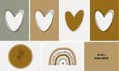 Kaarten | Wenskaarten | Kaart | Blanco | Set 6 stuks | Ansichtkaarten | Inclusief enveloppen | &mir