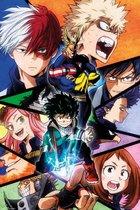 My Hero Academia poster Japans manga-anime-Izuku 61x91.5cm