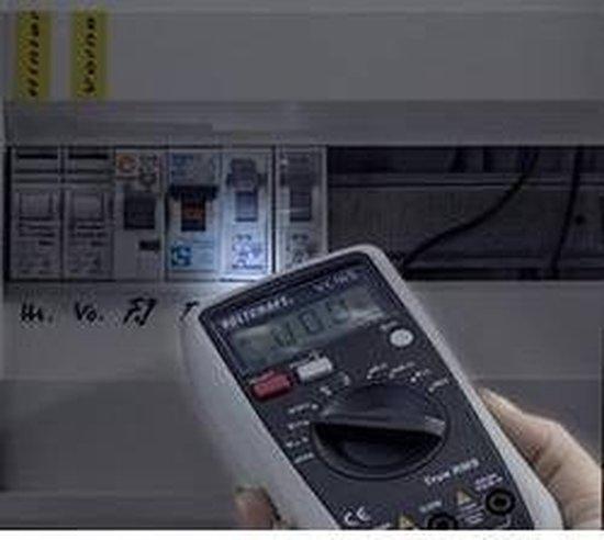 VOLTCRAFT VC165 TRMS Multimeter Digitaal CAT III 600 V Weergave (counts): 2000