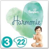 Pampers Harmonie Maat 3 (6-10kg) - 22 pampers