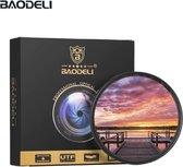 Baodeli 77mm GND8 gradueel grijsfilter ND Grad filter