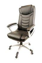 Nifty Living - Luxe Design Bureaustoel - Hoog zitcomfort - Zwart