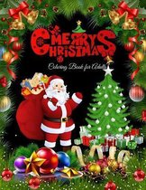 Merry Christmas Coloring Book for Adults