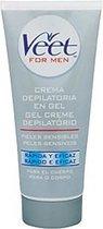 Veet Gevoelige Huid 200 ml Ontharingscrème voor Mannen