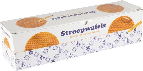 Max & Alex Stroopwafels in geschenkset - doosje met 4 pakjes stroopwafels (4x 250 gram)