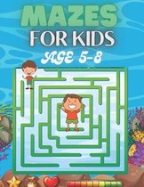 Mazes For Kids Age 5-8