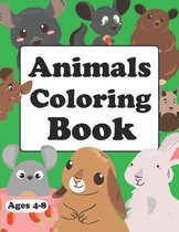 Animals Coloring Book: Baby Animals Coloring Book For Adults