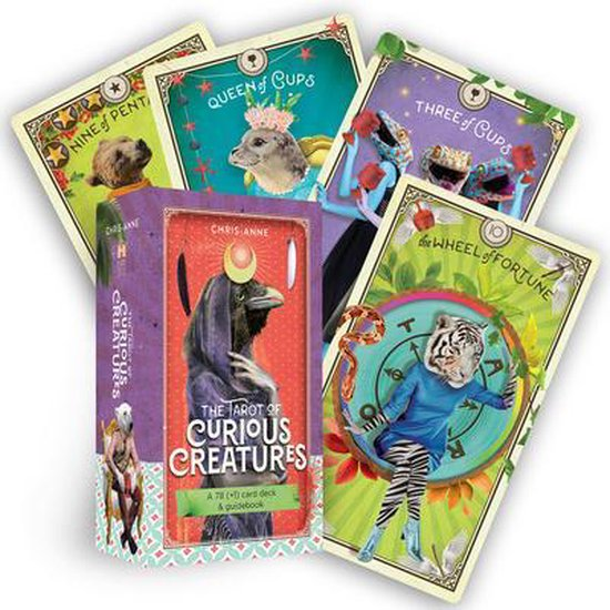 The Tarot of Curious Creatures: A 78 (+1) Card Deck and Guidebook